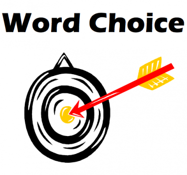 word choices